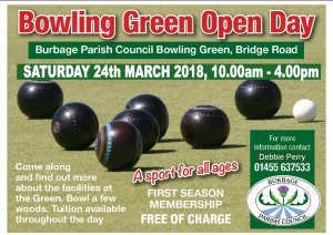 BOWLING GREEN OPEN DAY