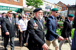 Record turn-out for Armed Forces Day