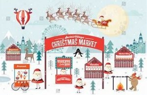 Christmas is coming - and so is Burbage Street Market