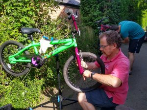 Bike sale and maintenance workshop for charity on August 8 at Hinckley Rugby Club