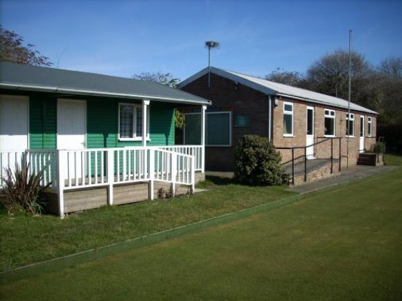 Picture of the bowling hut