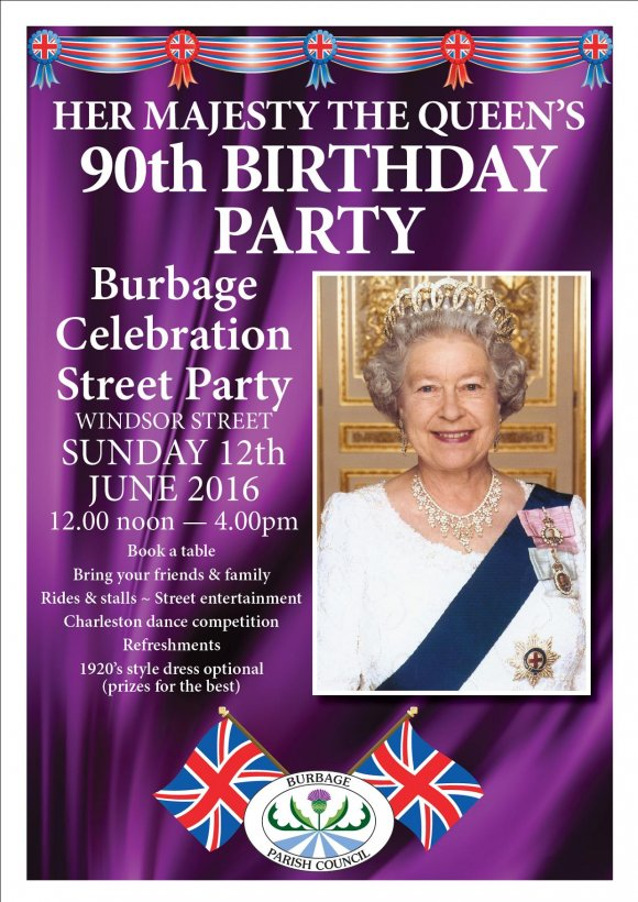 Queens 90th Birthday Celebration Street Party
