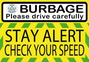 Burbage speed check campaign